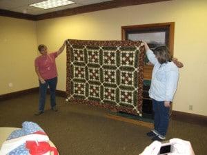 A challenge quilt