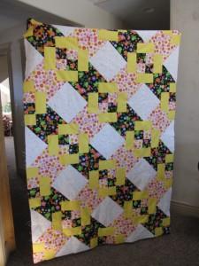 Sonja's easy quilt