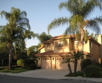 typical Californian house