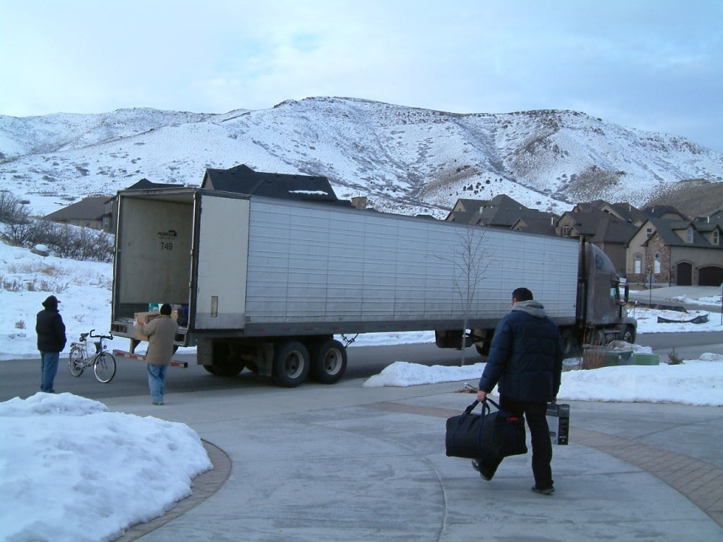 Loading the Moving Truck