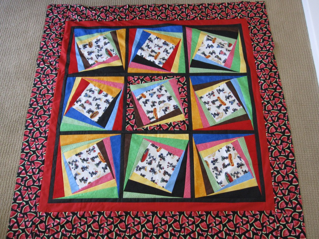 twist it picnic quilt
