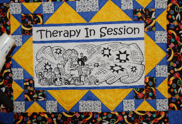 Beach Cities Quilt Guild: Therapy in Session