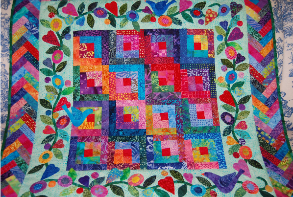 Beach Cities Quilt Guild Quilt 4