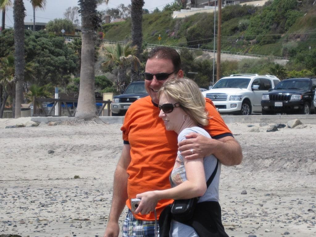 Rosanne and Michael Spano Dana Point Beach