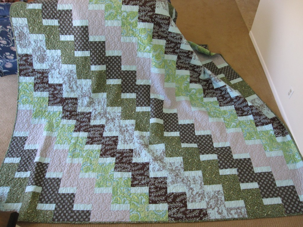 Rosanne and Michaels king size quilt