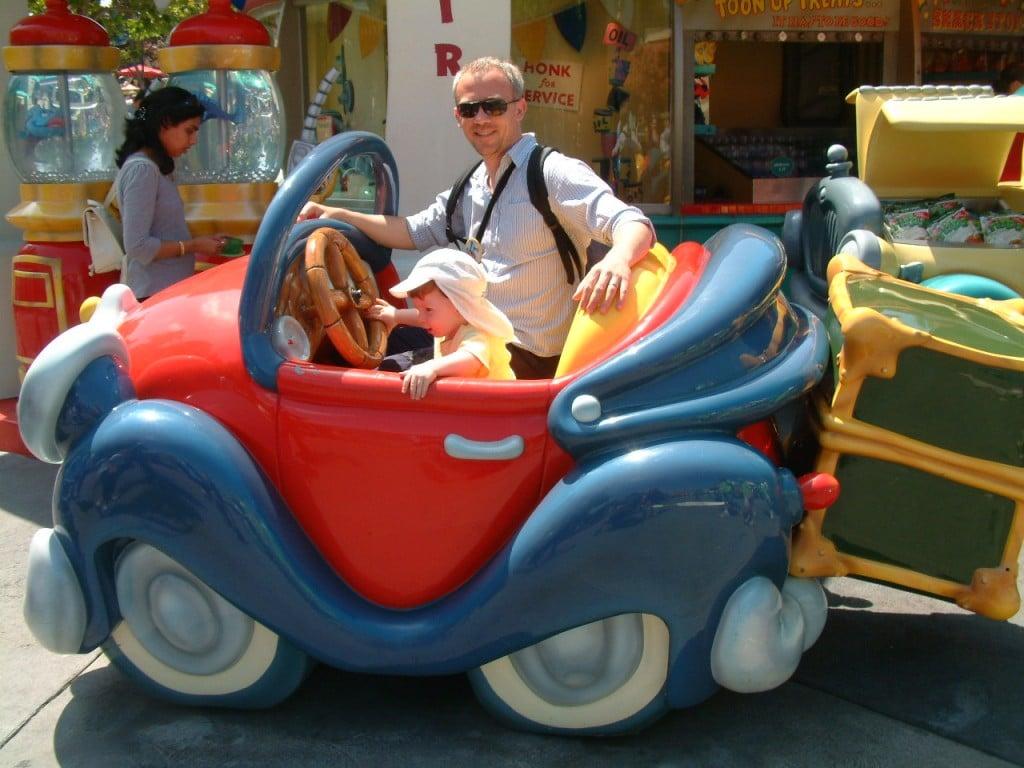 Gianni and Leo at Disney