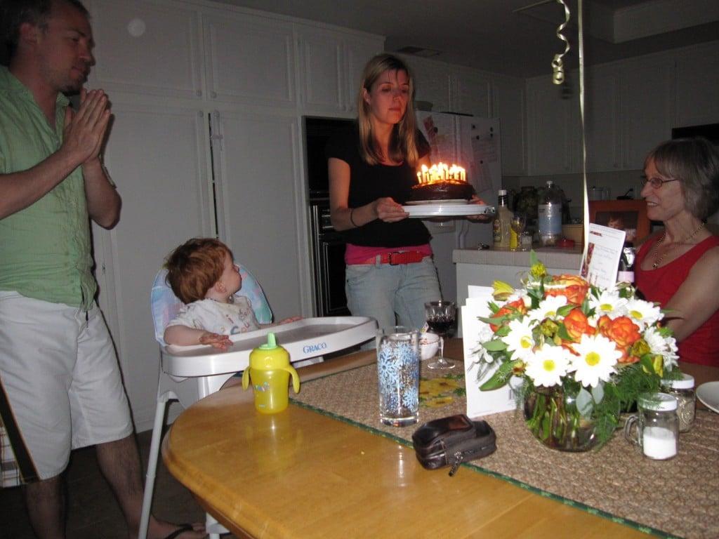 Sonja's birthday cake