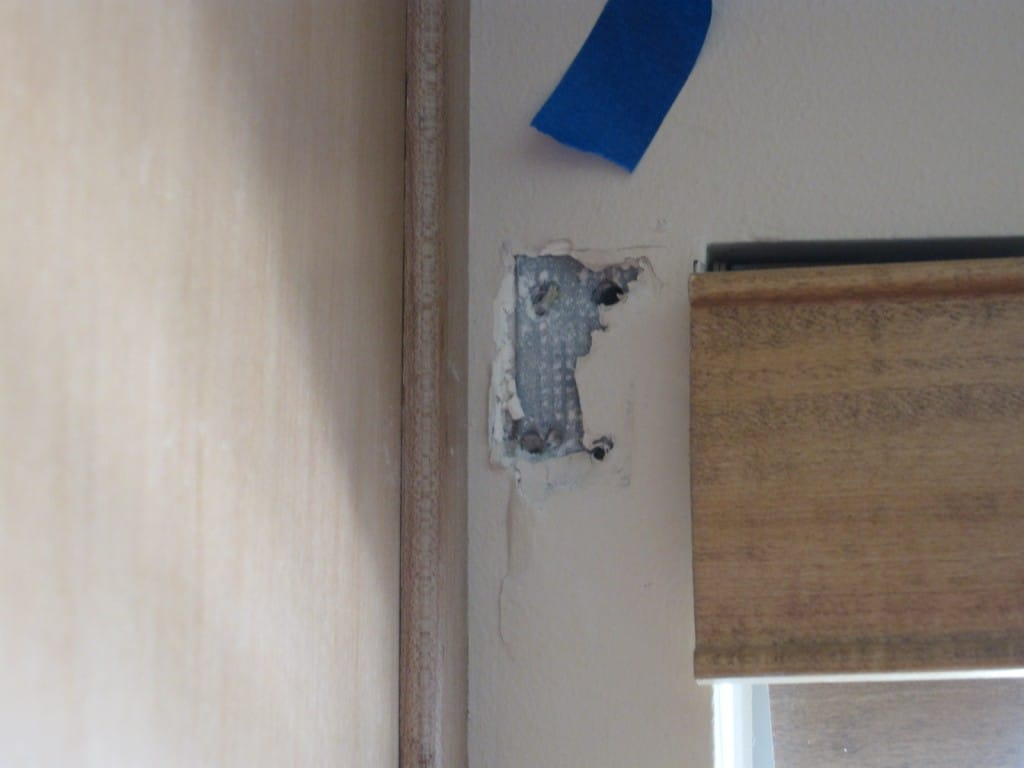 Plaster falling out