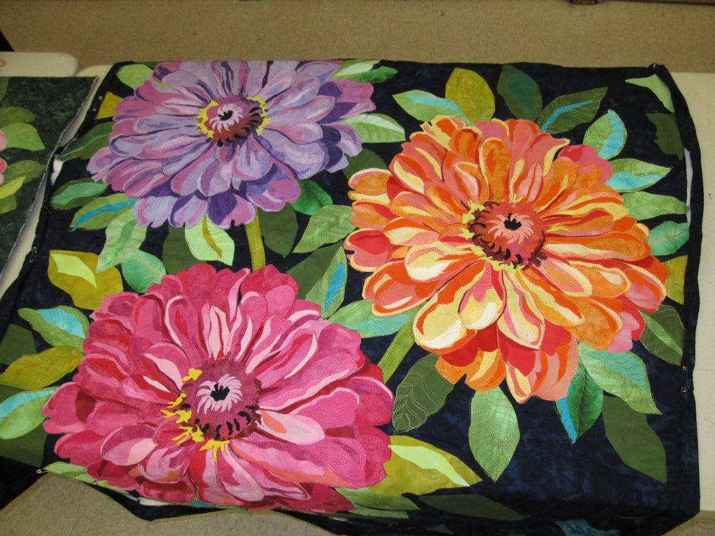 Three Flowers Quilt