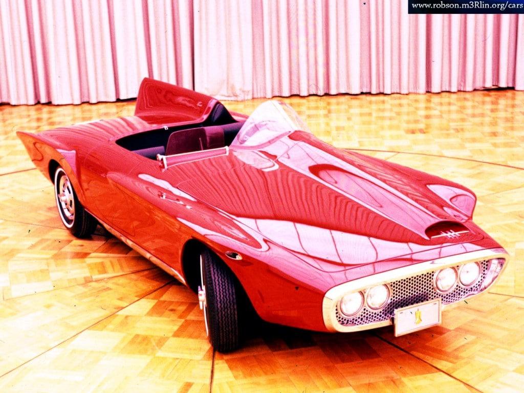 1960s concept sports car
