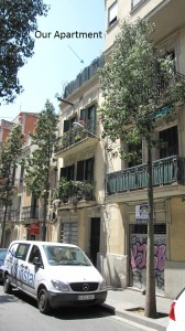 Our Apartment on Galileu in Barcelona
